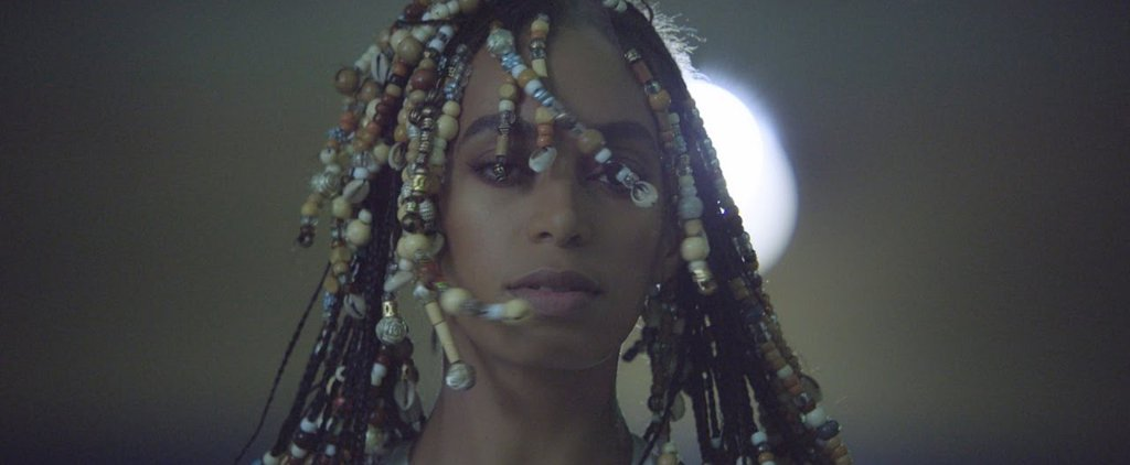 Picture of Solange Knowles' from her music video for 'Don't Touch My Hair'